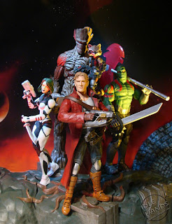 Toy Fair 2017: Marvel Select Guardians of the Galaxy Action Figures