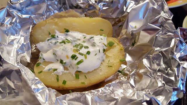 Baked Potato with Sour Cream and Chives was Called Real Life in 1992