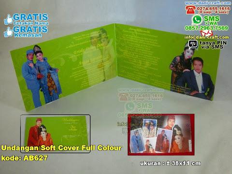 Undangan Soft Cover Full Colour