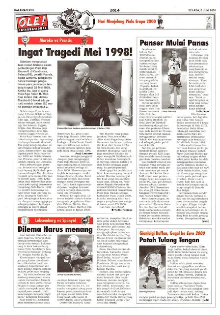 MAROKO VS PRANCIS INGAT TRAGEDI MEI 1998