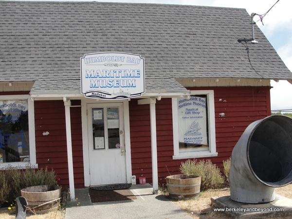 exterior of Humboldt Bay Maritime Museum