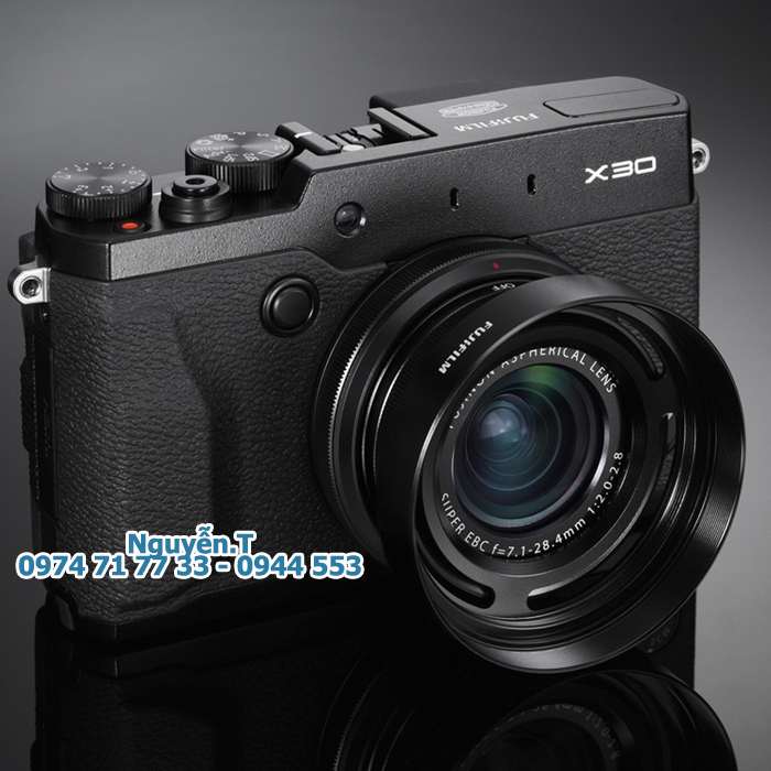 Lens hood - Loa che nắng NHÔM cho Fujifilm X10 - X20 - X30