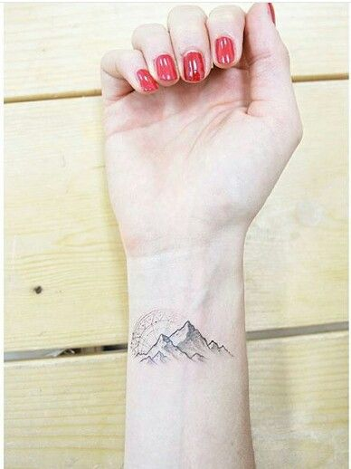 Amazing Mountain Tattoos