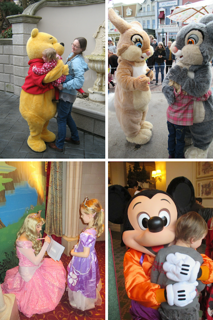 characters, top 4 things I take photos of at Disneyland Paris