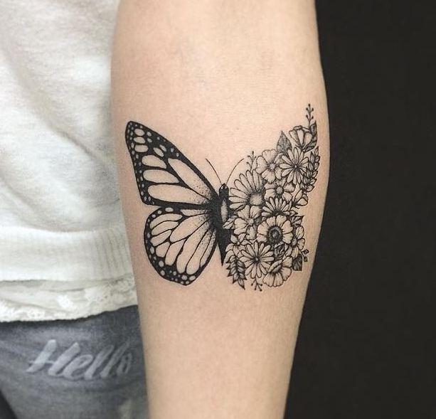 fdf7a0f554a54 51 Most Beautiful Flower Tattoos Ideas (2018) | TattoosBoyGirl