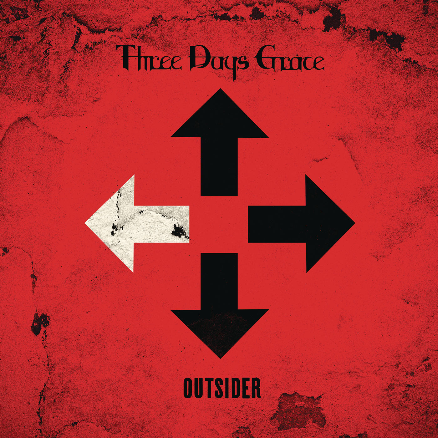 Three Days Grace - I Am An Outsider - Single Cover