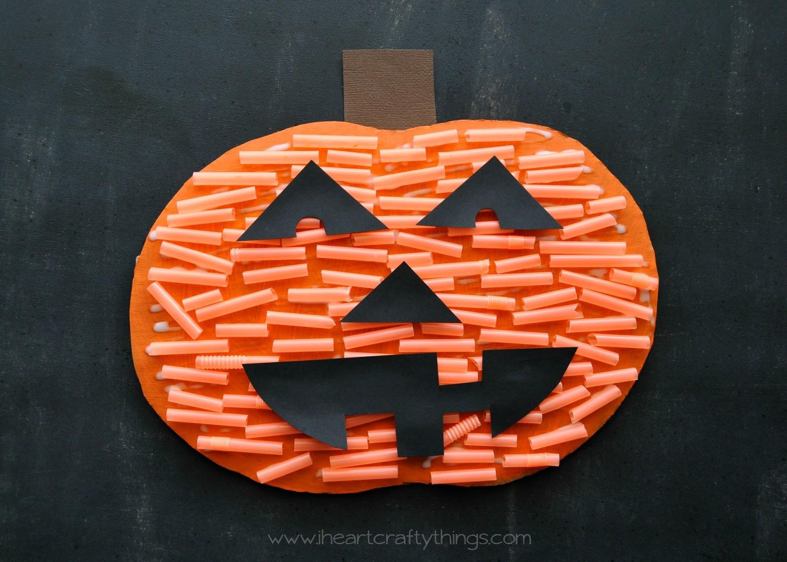 I Heart Crafty Things Pumpkin Cutting Practice Jack O Lantern Craft