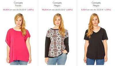 Camisetas tallas grandes