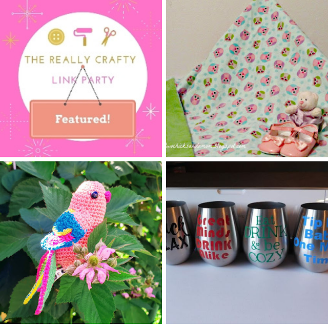 The Really Crafty Link Party #151 featured posts