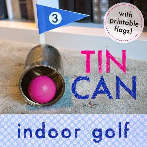 Diy Indoor Golf Course Munchkins And Mayhem
