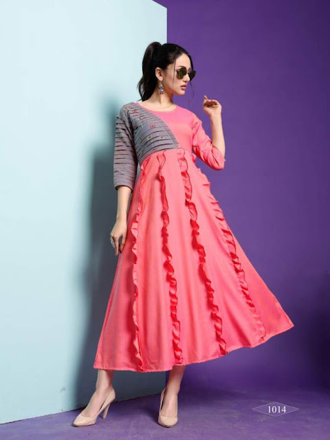 Banwery Millanio Party wear kurtis wholesale