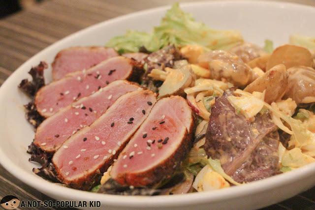 Ahi Tuna & Potato Salad