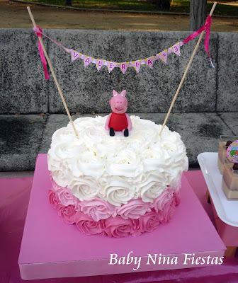mesa dulce Peppa pig