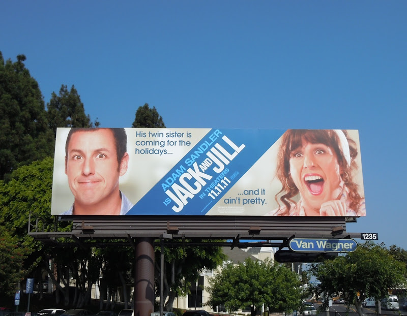 Adam Sandler Jack and Jill billboard