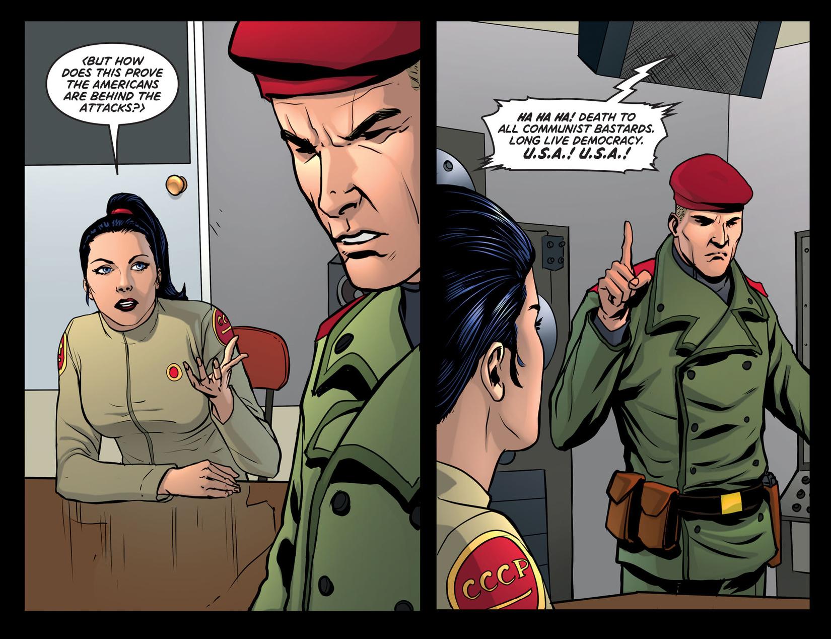 Read online Wonder Woman '77 [I] comic -  Issue #26 - 12