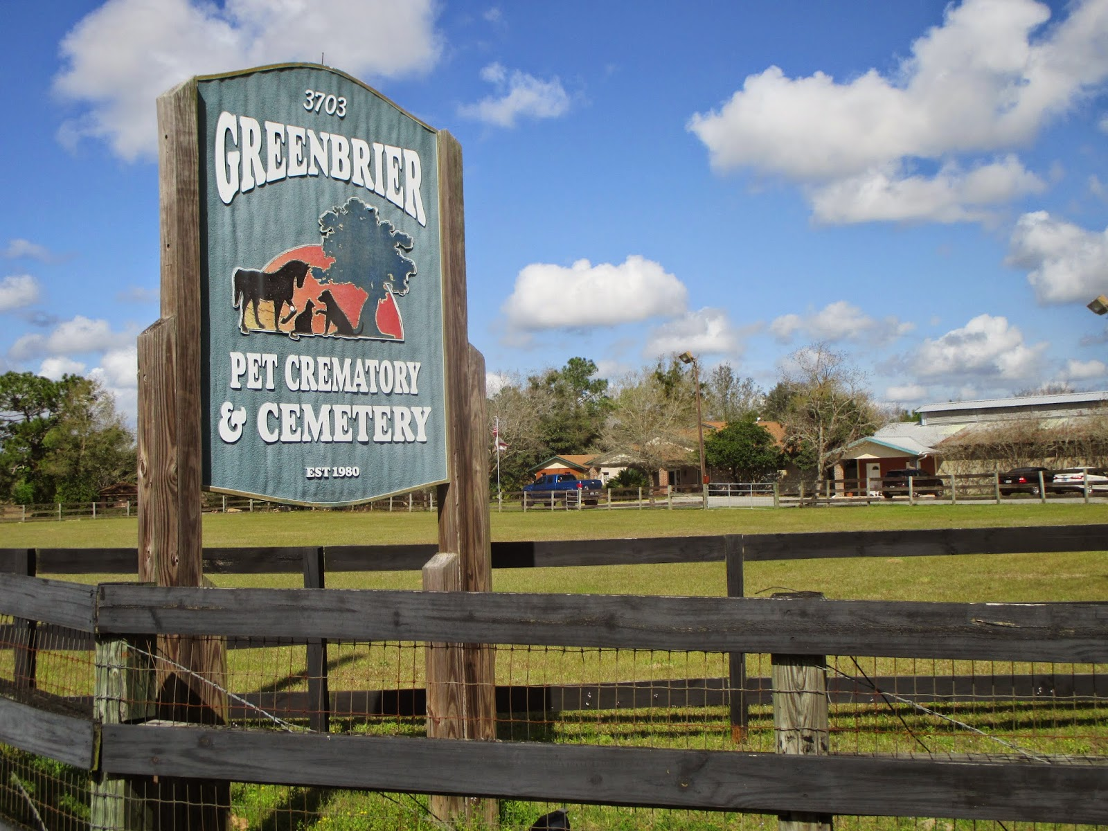 FINISHING TOUCHES: PET CREMATORY and CEMETERY