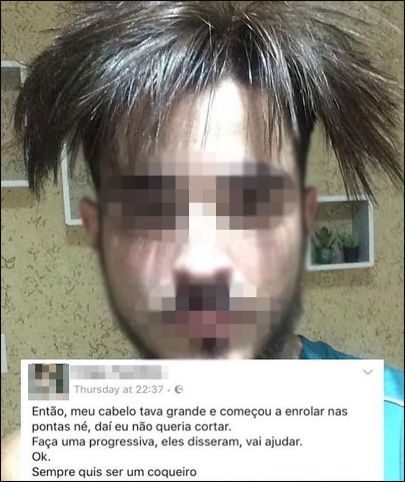 O pior corte de cabelo de todos
