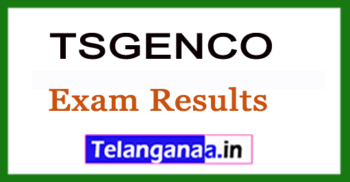 TSGENCO 2018 ECE Exam Results With Ranks