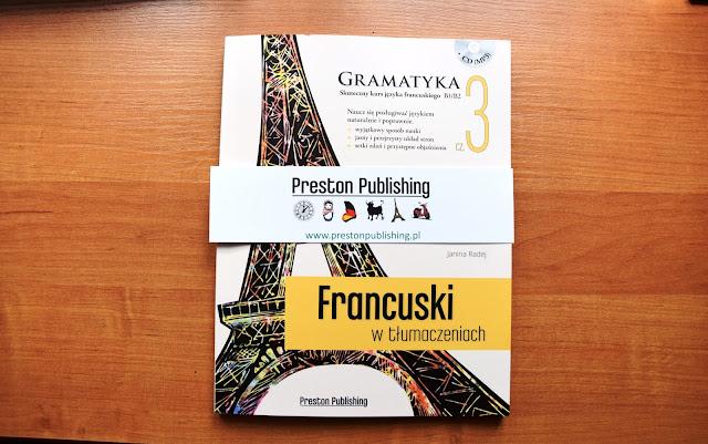 """Recenzje #7 - """"Francuski w tłumaczeniach cz. 3"""" - okładka książki pt.""""Francuski w tłumaczeniach cz. 3"""" - Francuski przy kawie"""