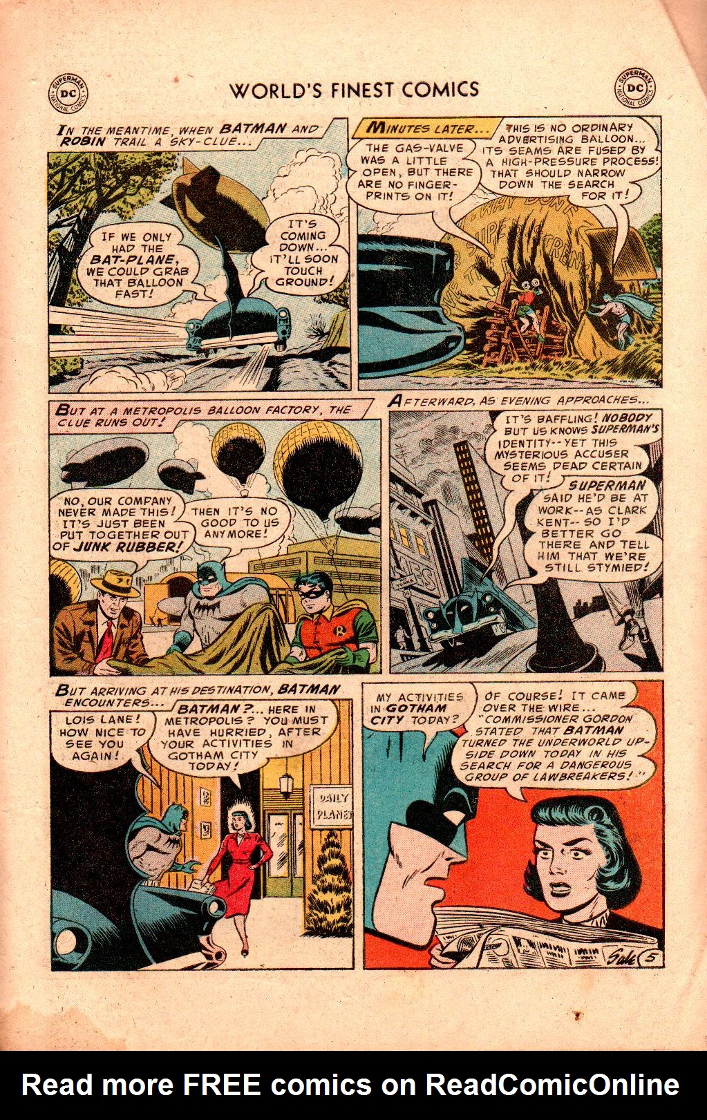 Read online World's Finest Comics comic -  Issue #78 - 7