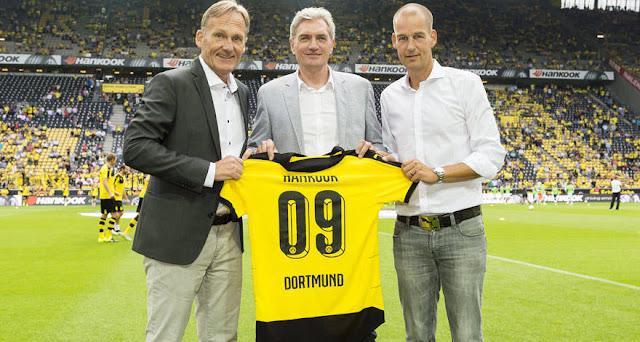 El Borussia Dortmund renueva su alianza con Hankook