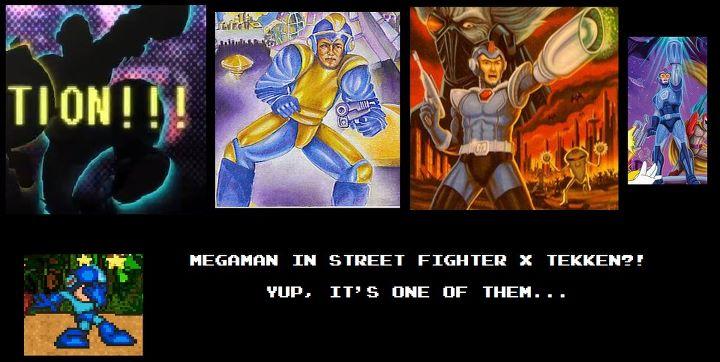Rockman Corner Mega Man Playable In Street Fighter X Tekken