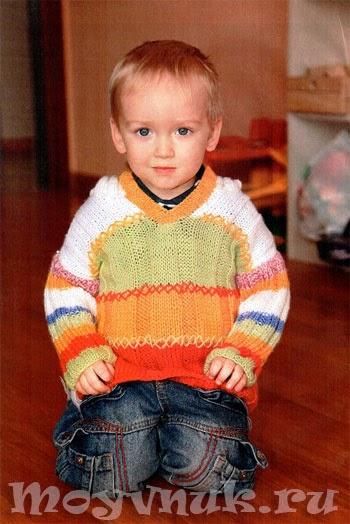 Свитер для мальчика, фото