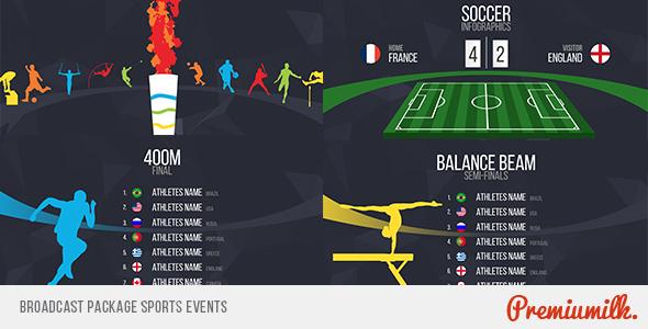 قالب افتر افكت مجاني - اقوى مشروع للاحداث الرياضية و الاولمبياد 2016 للافتر افكت CS5 فأعلى