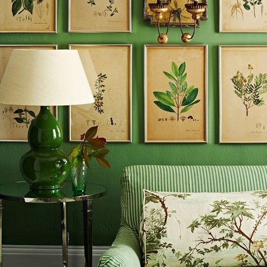 Botanical-inspired room schemes | housetohome.co.uk {Cool Chic Style Fashion}