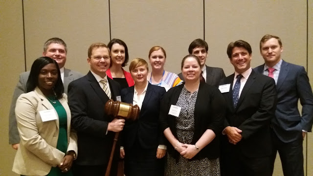 A group of youn lawyers with leader Matt Cordell of Raleigh a best lawyer