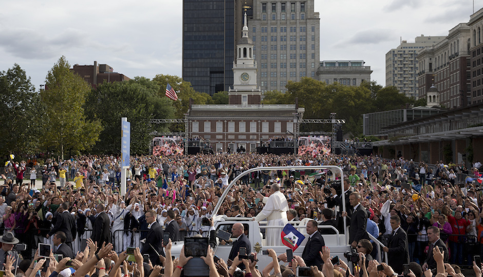 When Pope Francis Came to Philadelphia