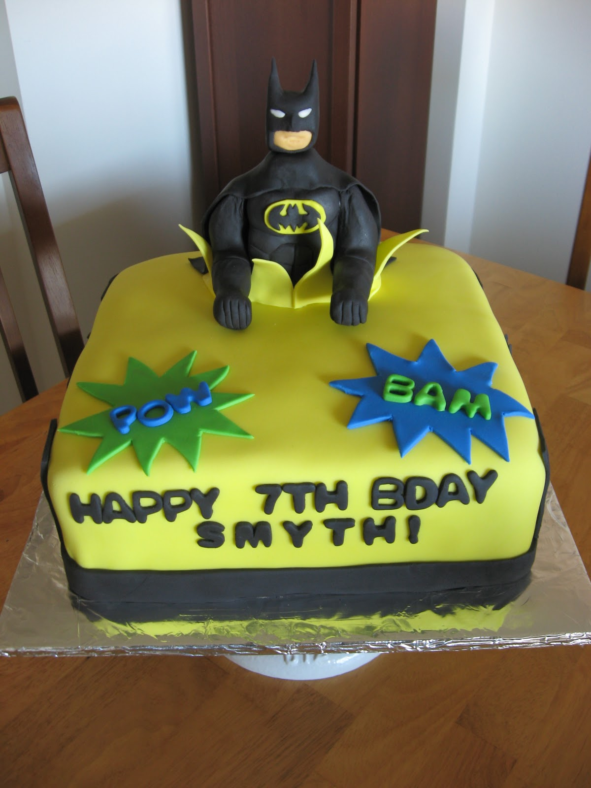 Sweet Cakes Dc Batman Birthday Cake