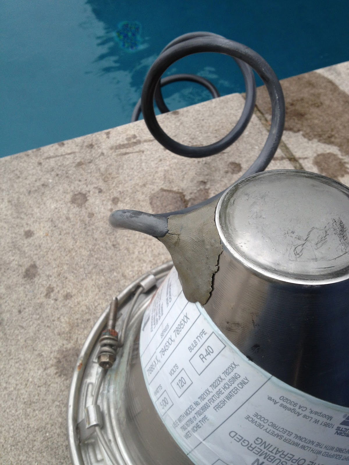 Swimming Pool Repair Experiences Underwater Swimming Pool