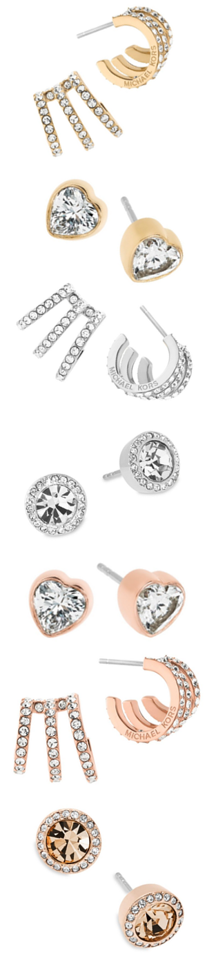 Michael Kors Assorted Earrings (each pair of earrings sold separately)