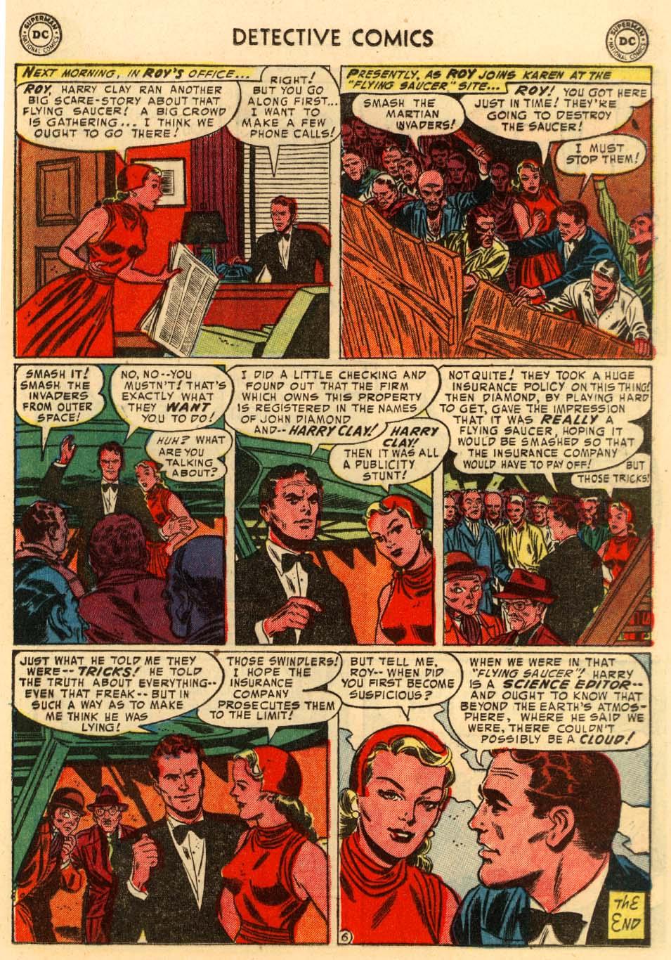Read online Detective Comics (1937) comic -  Issue #207 - 19