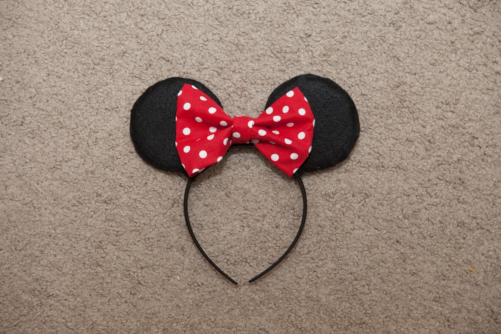 Minnie mouse ears headband template joy studio design for Template for minnie mouse ears