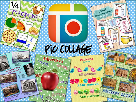 Technology Thursday Linky: Pic Collage... Simple App with Endless Possibilities!