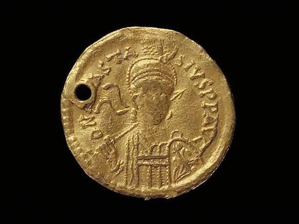Coins Analytical Ancient Byzantine Gold Solidus Heraclius 7th Century Ad Three Kings Coins