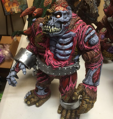 "Designer Con 2016 Exclusive ""Sasquatch Brown"" King Korpse 1-Off Custom Vinyl Figure by James Groman"