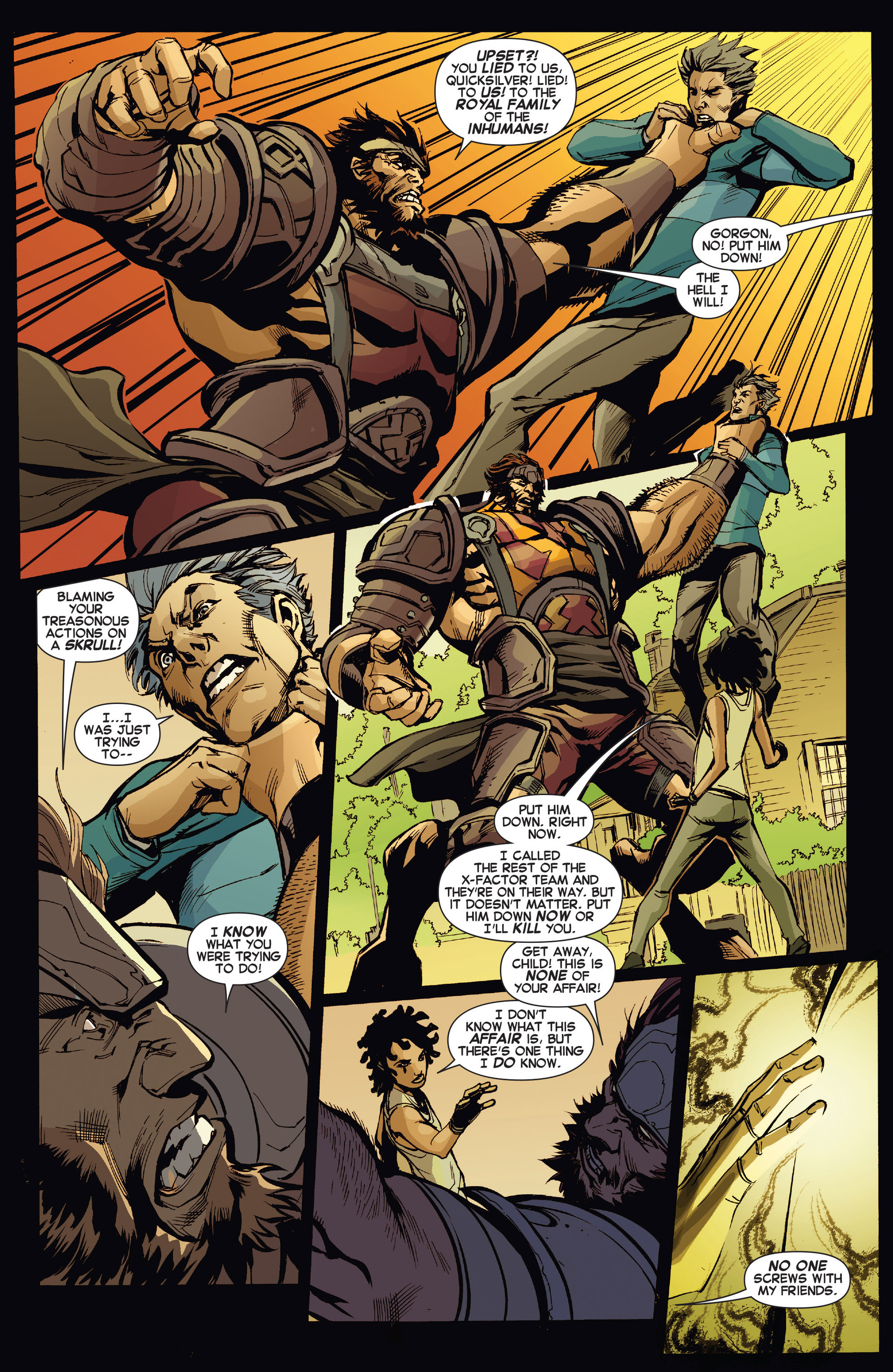Read online All-New X-Factor comic -  Issue #13 - 13