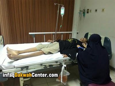 Sayyef-Izzuddin  di dalam rumah sakit