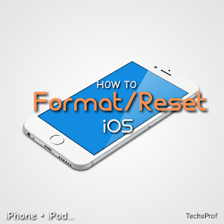 Format iOS(iPhone, iPod ...