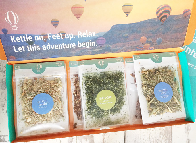 Contents of Tea Tourist