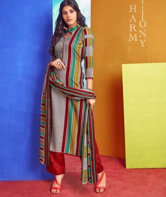 Kesar Shahin Pashmina Winter Woolen Salwar Kameez