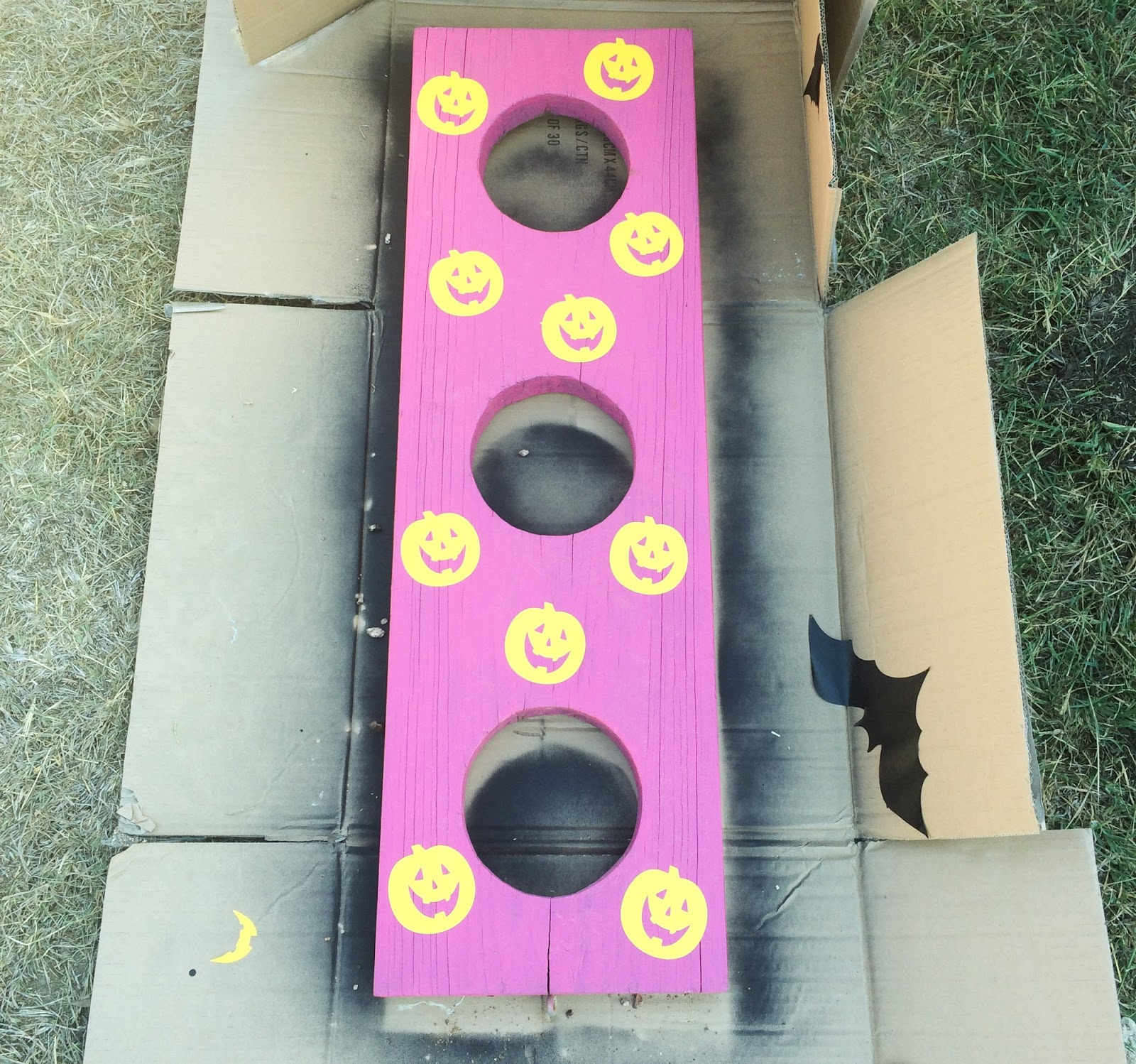 Diy It Halloween Bean Bag Toss A Kailo Chic Life