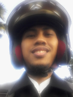 berkendara, sepeda motor, motor, helm