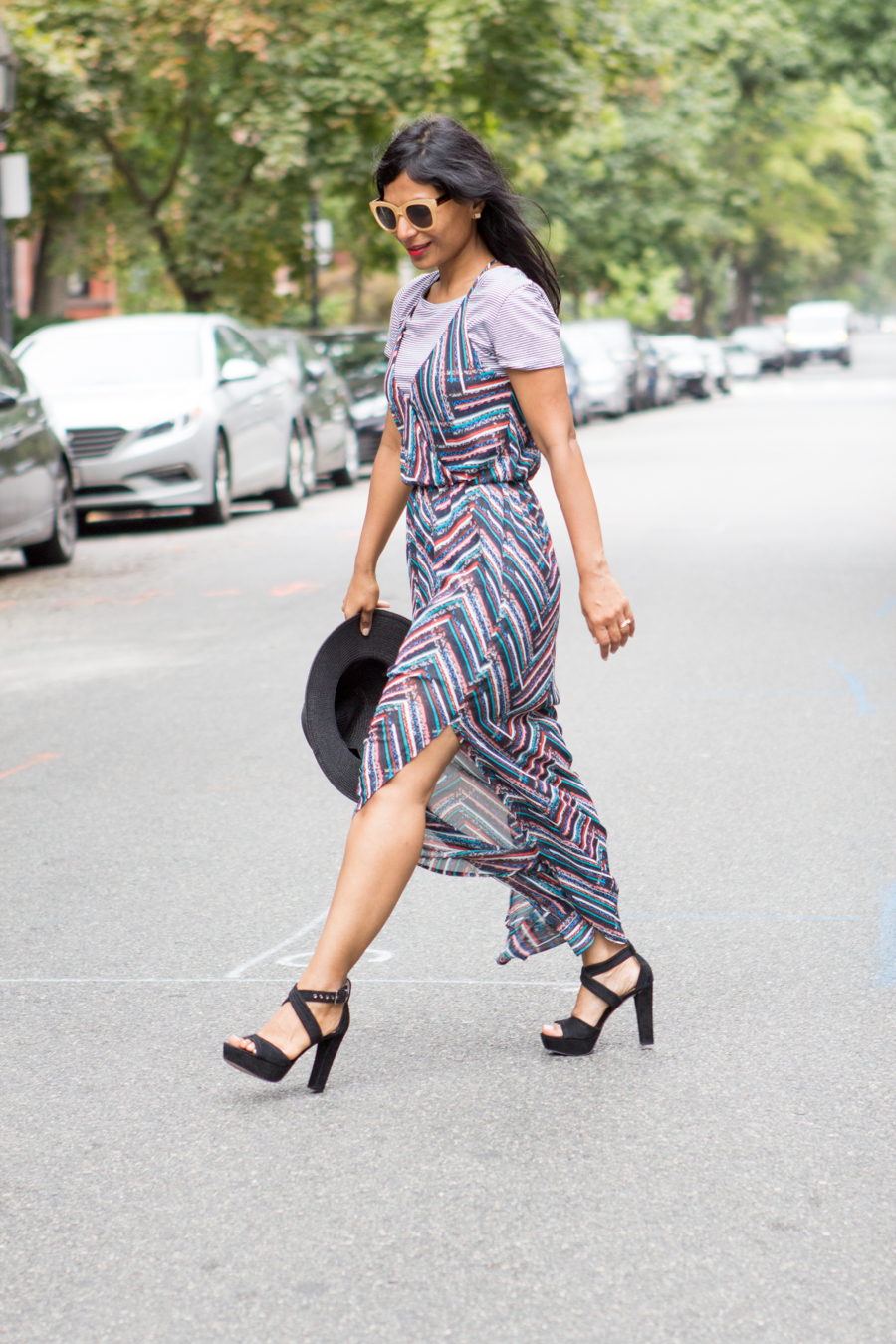 coffee style, weekend style, casual, dressy, maxi dress, feminine style, petite fashion, loft, vince camuto, lush, bp, affordable style, trendy