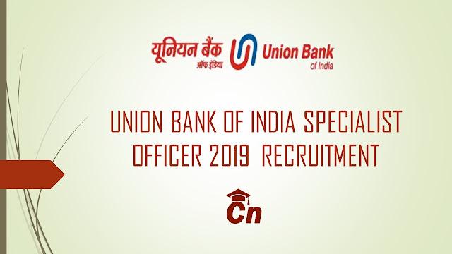 UBI Specialist Officer 2019 Recruitment, Union Bank Logo, Careerneeti.com Logo