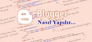 Blogger (blogspot) Resimler Nerede