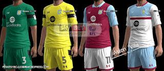 Aston Villa Kits 2016-2017 Pes 2013